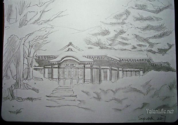 Taipei Life Art Illustration Snow Romanticism 台北生活 艺术插画 雪景 浪漫主义 Yalan雅岚文艺博客